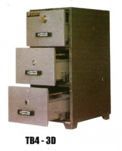 Filling Cabinet Tahan Api Daichiban TB4-3D