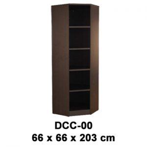 lemari arsip tinggi sudut tanpa pintu expo dcc-00
