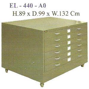 Lemari Gambar A0 Elite EL-440