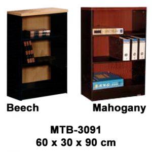 rak buku kecil tanpa pintu expo mtb-3091