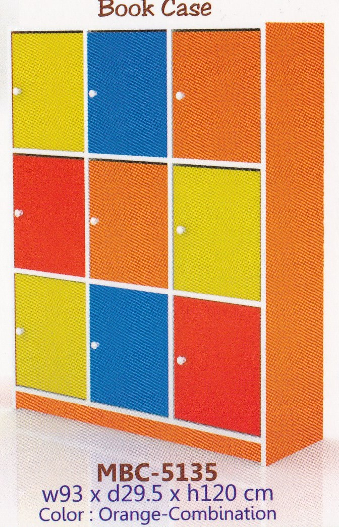 Locker Kayu/Book Case Expo MBC-5135