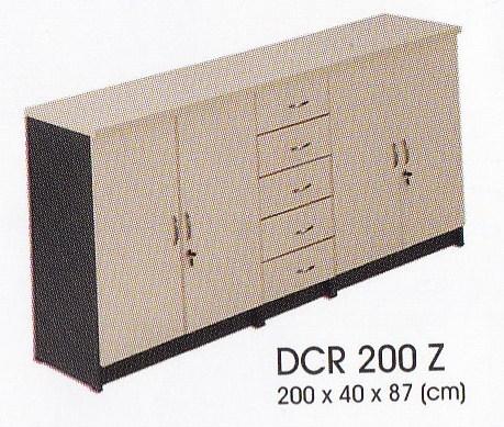 lemari arsip kayu donati dcr 200 z