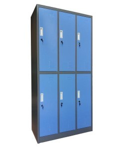 Locker 6 Pintu KL-6 W