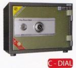 Brankas Hanmi Safe HS-37 C-Dial