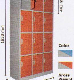 Locker Kozure 12 Pintu KL-12